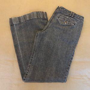 Ann Taylor LOFT Wide Leg Jeans